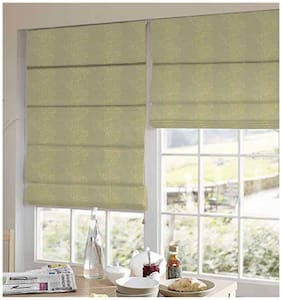 Presto Silver And Gold Abstract Jacquard Window Blind
