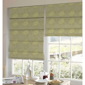 Presto Silver And Gold Floral Jacquard Window Blind