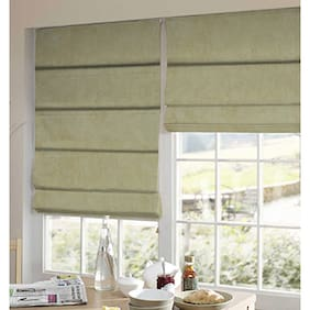 Presto Yellow Solid Velvet Window Blind
