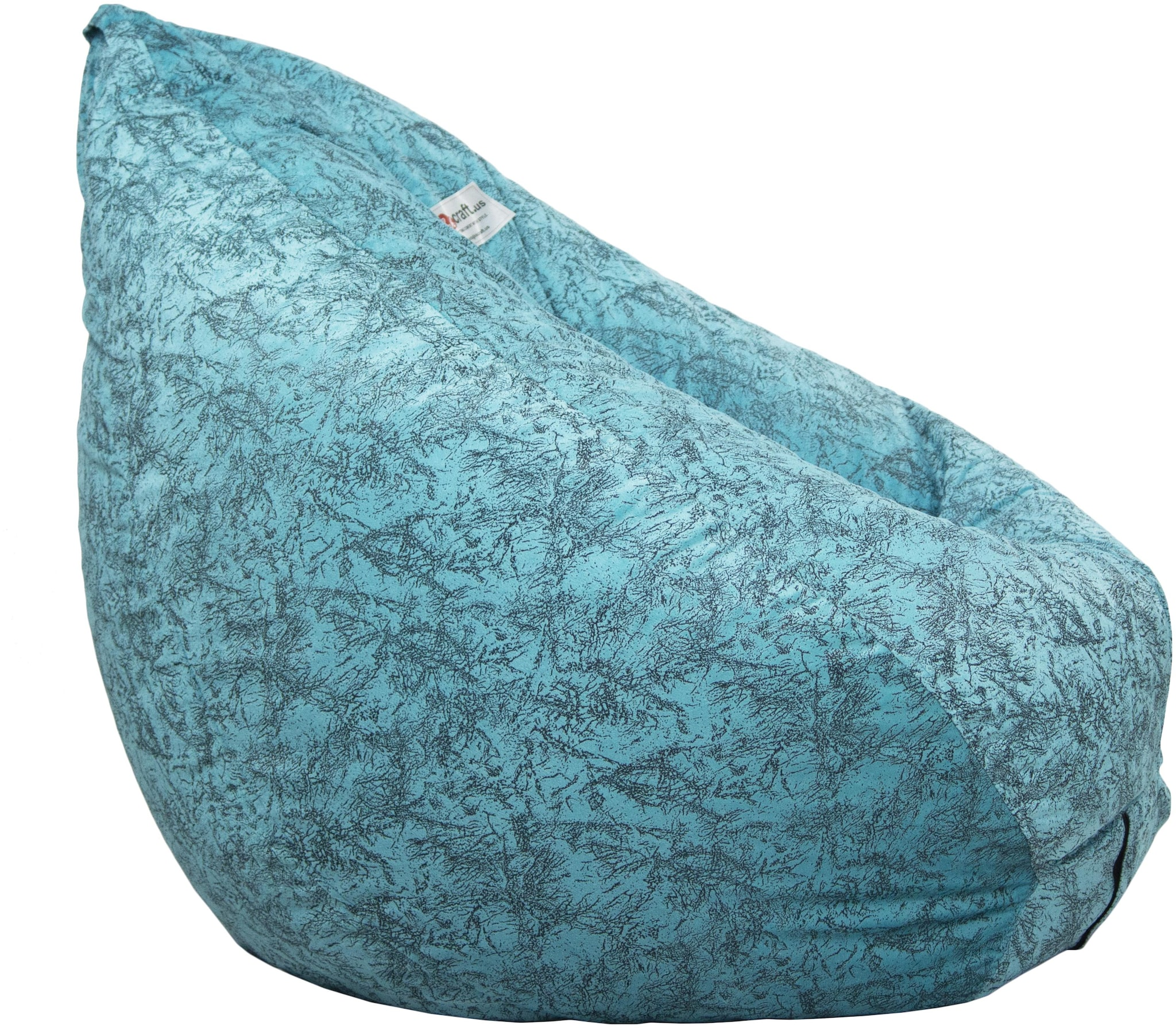 Printed Bean Bag Chair: Large Beanbag Chairs filled with beans for Kids,...