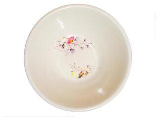 Printed Melamine Veg Bowl, 11cm, White (Single Piece) (Any Design)