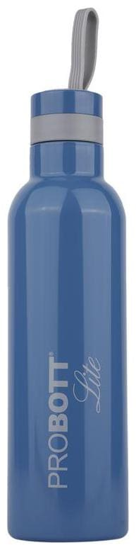 Probott Stainless Steel Blue Water Bottle ( 1000 ml , Set of 1 )