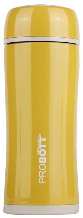 Probott Thermosteel Bottles Set of 1 ( Yellow , Stainless Steel ,  260 ml )