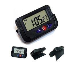 PRODUCTMINE Black Alarm Clock