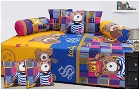 Profit blitz Cotton Cartoon Single Size Diwan Sets - Pack of 8