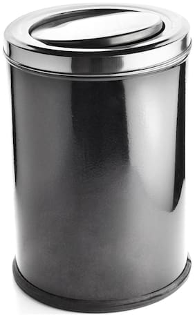 Profusion Stainless Steel Swing Bin Dustbin Garbage Bin Plain