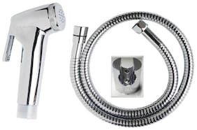 PSSS Faucet with 1.5 m brass hose Health Faucet Health Faucet (Wall Mount Installation Type)