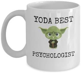 Psychology student coffee mug - Yoda best psychologist - funny Star Wars gift