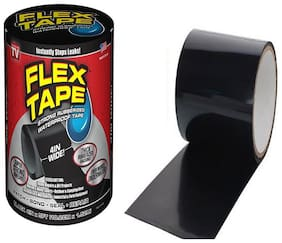 Punix Waterproof Flex Seal Super Strong Adhesive Sealant Tape For Any Surface;Stops Leaks;Large (Black;Pack Of 1)