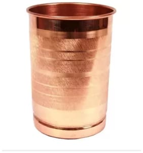 Pure Copper Lining Glass For Good Health Benefits