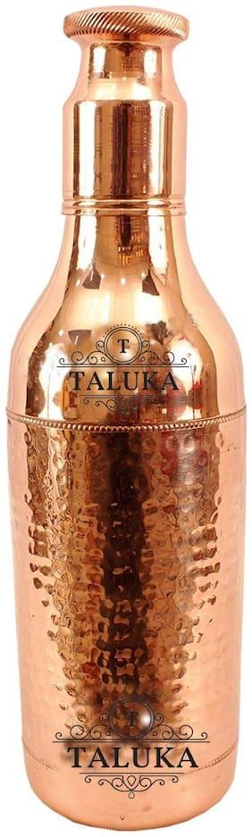 TALUKA Copper Brown Water Bottle ( 1700 ml , Set of 1 )