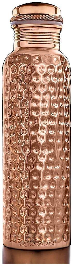 DVM 750 ml Copper Copper Water Bottles - Set of 1