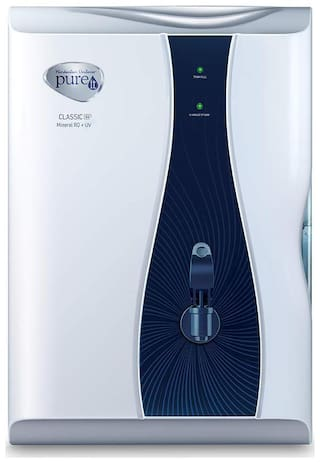Pureit Classic G2 Mineral RO + UV 6 Ltr Water Purifier (White)
