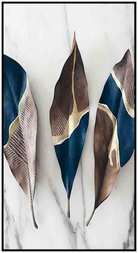 Purvani MDF Sticker Wall Decor - Art on MDF for Decoration & Hanging (7 x 4 inches)