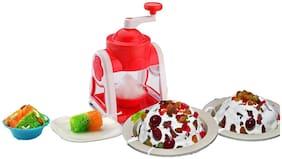 QROMOS Ice Maker & Gola Maker Machine, Manual Ice Crusher, Gola Maker Summer Special-1 Gola Maker Set (Random Color)