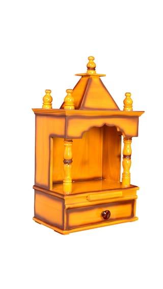 907bffdea Quality Creations Home Temple Pooja Mandir Wooden Temple Temple For Home  Mandir