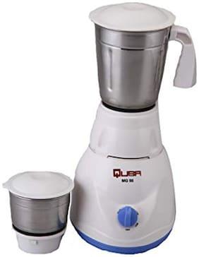 Quba MG-98 500 W Mixer Grinder ( White , 2 Jars )