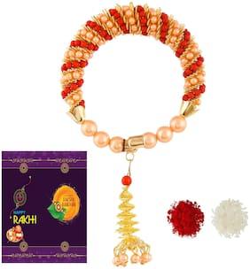 RA-Rock Multicolor Chuda Rakhi Set For Bhabhi Sa (ARR211008)