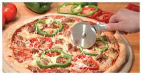"""Rada Cutlery W221 Pizza Cutter, 3"""" stainless steel, Black Handle FREE SHIPPING"""
