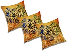 RADANYA 3D Printed Cushion Cover (Set of 3) 20x20 inch