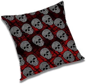 RADANYA 3D Printed Cushion Cover with Filler Set 16x16 Inch