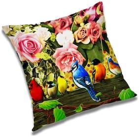 RADANYA Abstract Cushion Cover 18x18 inch