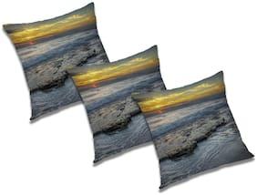 RADANYA Abstract Cushion Cover (Set of 3) 24x24 inch
