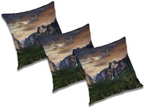 RADANYA Abstract Cushion Cover (Set of 3) 16x16 inch