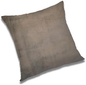 RADANYA Abstract Polyester Grey Cushion Cover ( Small , Pack of 1 )