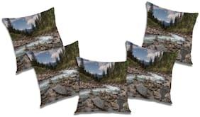 RADANYA Abstract Cushion Cover (Set of 5) 16x16 Inch
