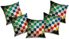 RADANYA Abstract Cushion Cover (Set of 5) 24x24 inch