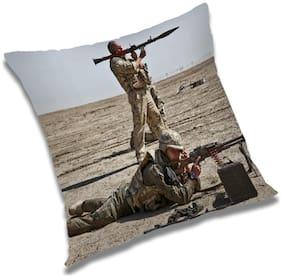 RADANYA Abstract Cushion Cover 16x16 inch