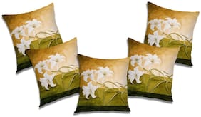RADANYA Abstract Cushion Cover with Filler (Set of 5) 18x18 Inch