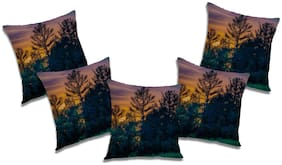 RADANYA Abstract Cushion Cover (Set of 5) 24x24 inch