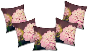 RADANYA Floral Cushion Cover (Set of 5) 20x20 inch