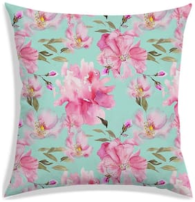 RADANYA Floral Cushion Cover 24x24 inch