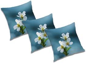 RADANYA Floral Cushion Cover (Set of 3) 18x18 inch