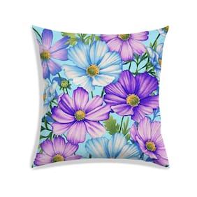 RADANYA Floral Cushion Cover 16x16 Inch