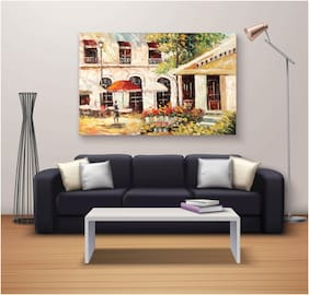 RADANYA Printed Canvas painting ( Set of 1 )