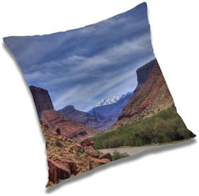 RADANYA Natural Cushion Cover 20x20 inch