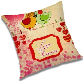 RADANYA Printed Cushion Cover 24x24 inch