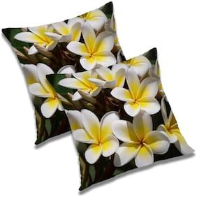 RADANYA Printed Cushion Cover 18x18 inch