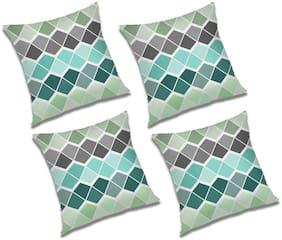 RADANYA Printed Cushion Cover (Set of 4) 20x20 inch