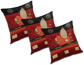 RADANYA Printed Cushion Cover (Set of 3) 20x20 inch