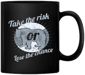 RADANYA Take the Risk Love the Chance Gift Coffee Mug Tea Cup