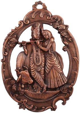 Radha-krishan oval (Copper) big