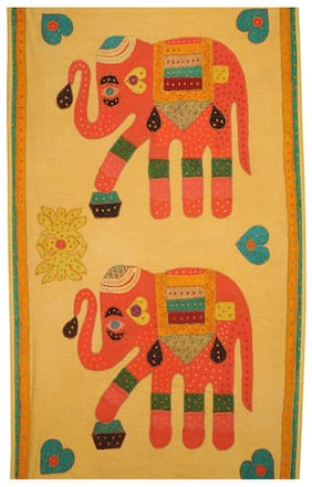 Rajrang Best Wall Hanging Tapestry For Home D cor Hanging Tapestry Wall With Embroidery Design Elephant Decorative Tapestries