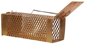 Ramanta Small Iron Rat Trap/Rodent cage/Mouse Control(22 cms X 9 cms X 8 cms) Live Trap