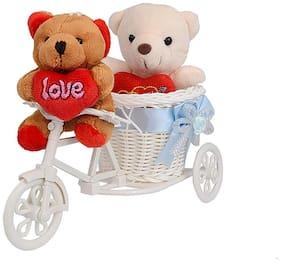 Rangoli Small Teddy Showpiece For Love Special