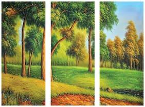 Rangoli Printed Paintings ( Set of 3 )